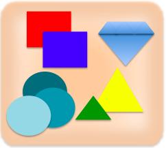 triángulos y diamantes