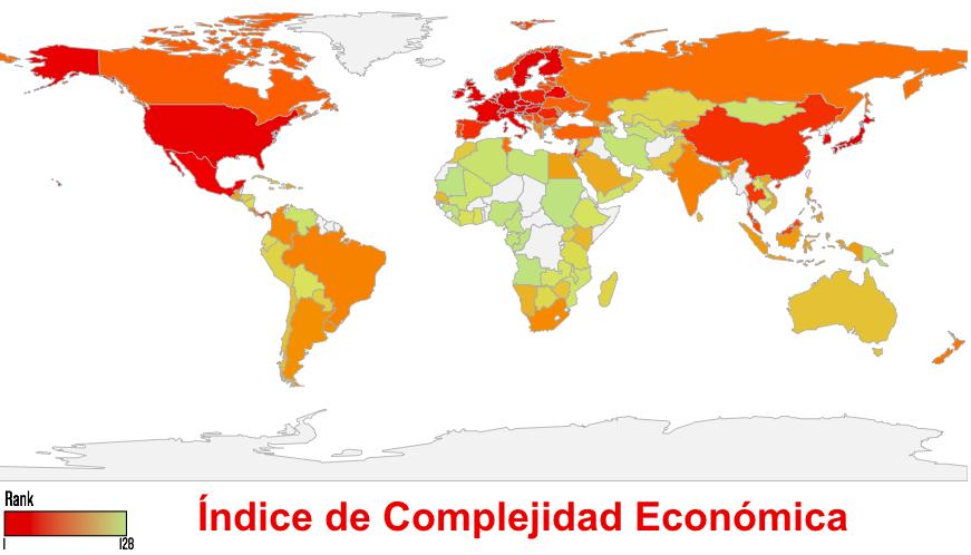 Resultado de imagen para mexico  índice de complejidad económica